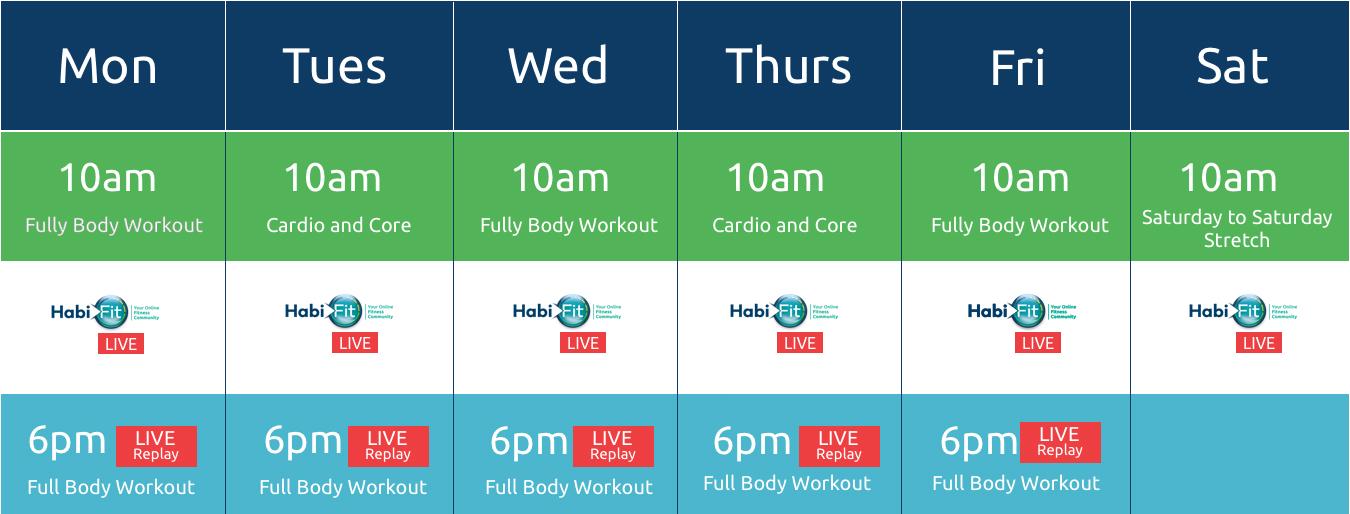 habifit-timetable