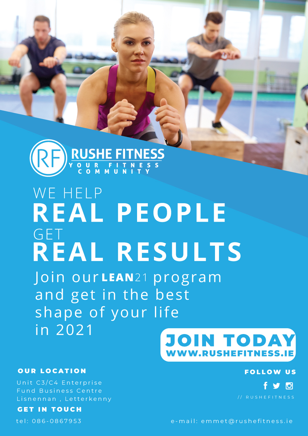 rushe-fitness-lean-2021-a5-flyer